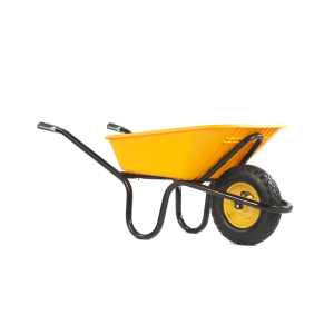 ALPHA POLY Puncture Free Wheelbarrow