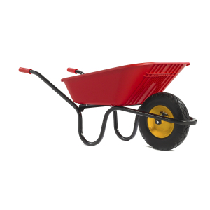 GO RED Puncture Free Wheelbarrow