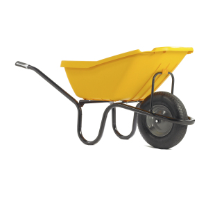 PICK-UP YELLOW Pneumatic Wheelbarrow