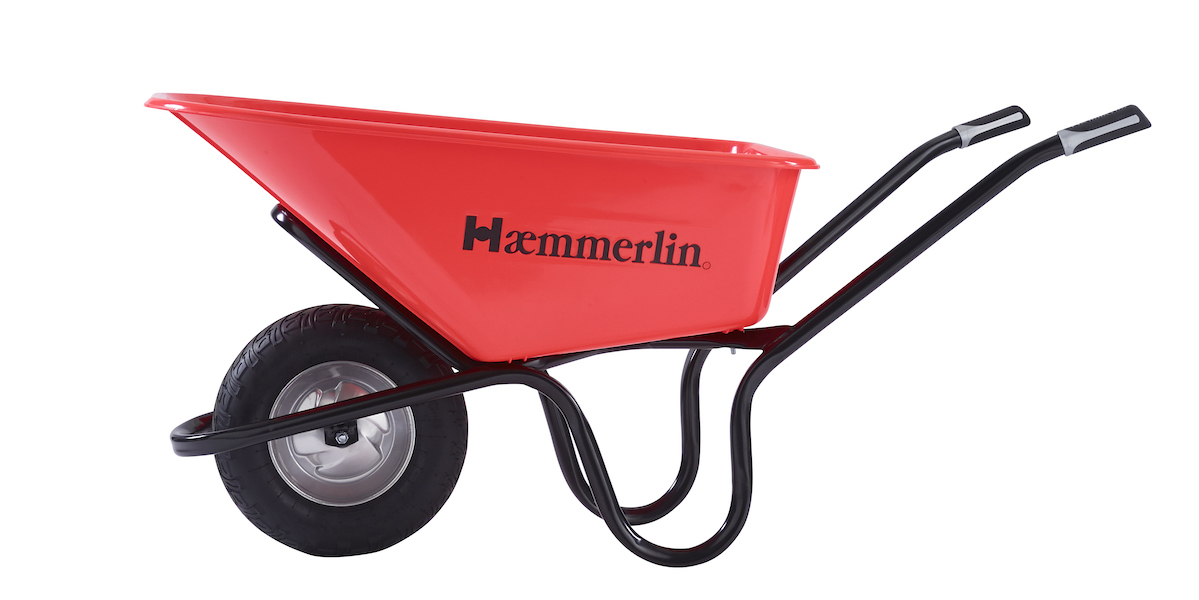 Haemmerlin's new Crusader wheelbarrow